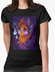 Cute Violet Imp Womens Fitted T-Shirt