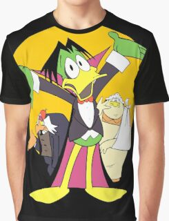 The Count Family Graphic T-Shirt
