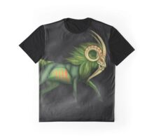 Night Stalker Goat Graphic T-Shirt