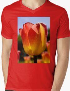 tulip 1 Mens V-Neck T-Shirt
