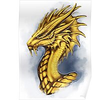 Legendary Dragon Seahorse Poster