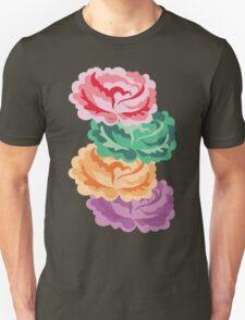 CHEVRON ROSES Unisex T-Shirt