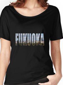 Fukuoka Women's Relaxed Fit T-Shirt