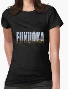 Fukuoka Womens Fitted T-Shirt