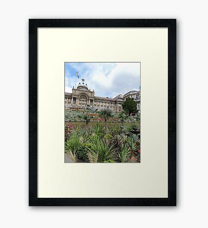 Victoria Square, Birmingham Framed Print