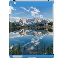 Mirror Lake - Italian Dolomites iPad Case/Skin