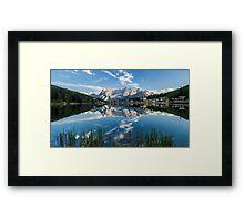 Mirror Lake - Italian Dolomites Framed Print
