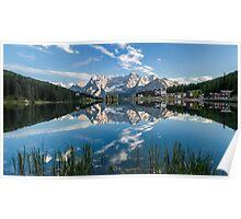 Mirror Lake - Italian Dolomites Poster