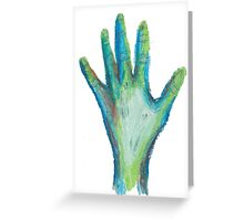 Zombie Hand Greeting Card