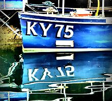 KY 75 at Anstruther Harbour by ©The Creative  Minds