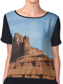 Monument Valley 3 Chiffon Top