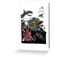 """""""20,000 Leagues under the Sea"""" The Graphic Novel  Greeting Card"""