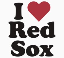 I Heart Love Red Sox by HeartsLove
