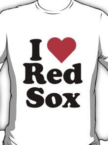 I Heart Love Red Sox T-Shirt