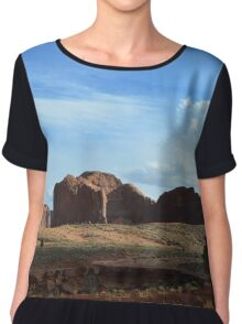 Monument Valley 8 Chiffon Top
