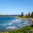 Main Surfing Beach, Yamba by Gregory Hale
