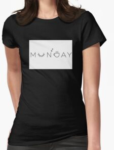 Monday Womens Fitted T-Shirt