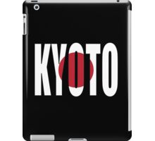 Kyoto. iPad Case/Skin