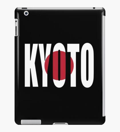 Kyoto. iPad Case/Skin