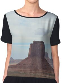 Monument Valley 11 Chiffon Top