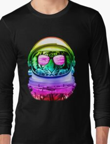 Cool Space Tiger  Long Sleeve T-Shirt