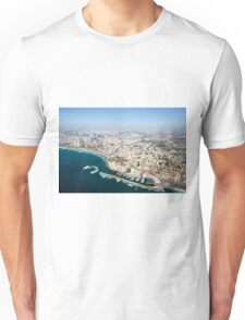 Aerial Photography of Old Jaffa Port, Israel Unisex T-Shirt