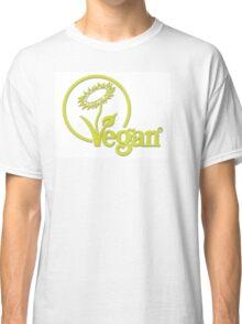 Vegan Symbol Classic T-Shirt
