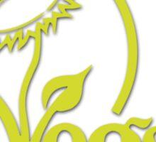 Vegan Symbol Sticker