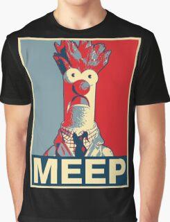 Beaker Meep Poster Graphic T-Shirt