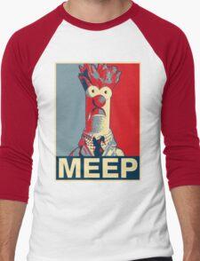 Beaker Meep Poster Men's Baseball ¾ T-Shirt