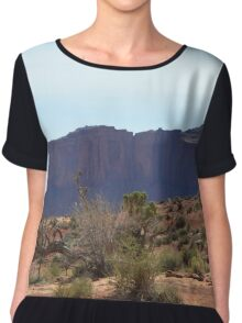 Monument Valley 18 Chiffon Top