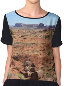 Monument Valley 19 Chiffon Top