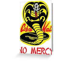 Cobra Kai Dojo Greeting Card