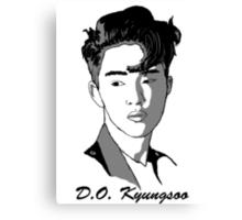 D.O. Kyungsoo Canvas Print