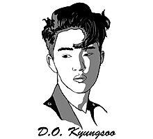 D.O. Kyungsoo Photographic Print