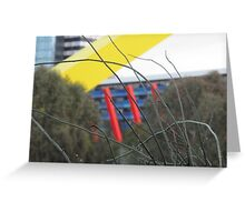 Melbourne bush and city 2 Greeting Card