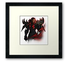 Dragon armour Framed Print