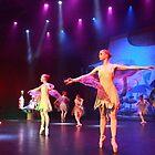 Ballet, dance peformance  by Peter Voerman
