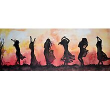 """Alabama - Loving Life"" Watercolor on Canvas Photographic Print"