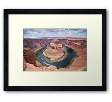 Horseshoe bend - USA Framed Print