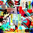 mixed media pop art collage by ShellyKay