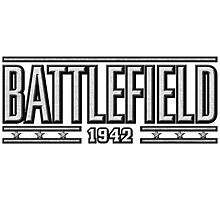 Battlefield 1942 logo Photographic Print