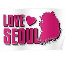 LOVE SEOUL!  Poster