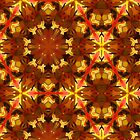 Kaleidoscope Geometry Pattern From Nature 16 by Kenneth Grzesik