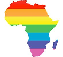 rainbow africa Photographic Print