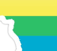 rainbow africa Sticker