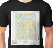 USGS TOPO Map Alaska AK Bradfield Canal A-6 354710 2000 63360 Unisex T-Shirt