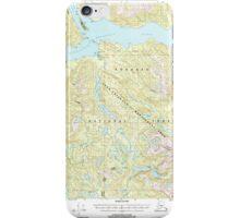 USGS TOPO Map Alaska AK Bradfield Canal A-6 354710 2000 63360 iPhone Case/Skin