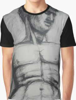 Adonis - Male Nude  Graphic T-Shirt