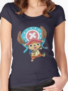 One Piece - Tony Tony Chopper Women's Fitted Scoop T-Shirt